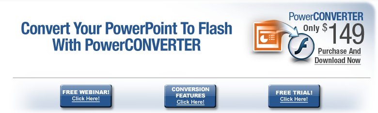 powerconverter convert PowerPoint to Flash