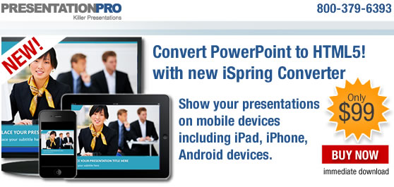 iSpring Converter | Convert PowerPoint to HTML 5