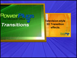 PowerPoint transition effects - Sample 3D transition effect included in PowerPlugs: Transitions Volume 3