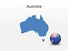 Australia PowerPoint Map Shape. 100% editable in PowerPoint!