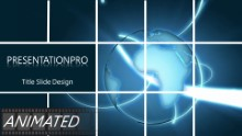 Animated Global 0022 2 Widescreen PPT PowerPoint Animated Template Background