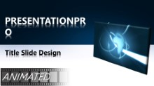 Animated Global 0022 C Widescreen PPT PowerPoint Animated Template Background
