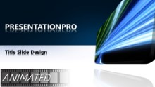 Download animated glowing tech blue widescreen PowerPoint Widescreen Template and other software plugins for Microsoft PowerPoint