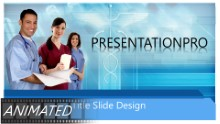Animated Medical 0286 Widescreen PPT PowerPoint Animated Template Background