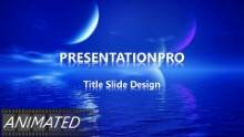 Animated Nature 0032 Widescreen PPT PowerPoint Animated Template Background