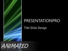 Animated Flowing Abstract Beams PPT PowerPoint Animated Template Background
