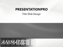 Animated Waveform Flow Silver PPT PowerPoint Animated Template Background