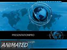 Download global direction Animated PowerPoint Template and other software plugins for Microsoft PowerPoint