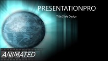 Labled World Widescreen PPT PowerPoint Animated Template Background