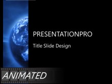 Animated Rotating Global Rays PPT PowerPoint Animated Template Background