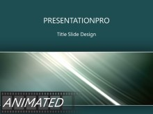 Animated Rising Swish Horizontal Light PPT PowerPoint Animated Template Background