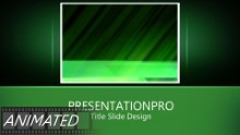 Golf 0023 Widescreen PPT PowerPoint Animated Template Background
