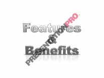 Download features benefitss PowerPoint Graphic and other software plugins for Microsoft PowerPoint
