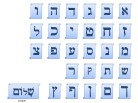 Hebrew Alphabet Scrolls PPT PowerPoint Image Picture
