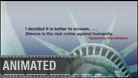 CivilLiberty - Widescreen PPT PowerPoint Video Animation Movie Clip