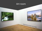 Photos Art Room PPT PowerPoint presentation slide layout
