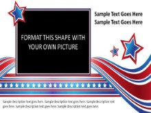 Widescreen Patriotic Picture Placeholder PPT PowerPoint presentation slide layout