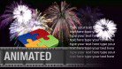 Fireworks Text PPT PowerPoint presentation slide layout