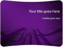 Download cable waves purple PowerPoint Template and other software plugins for Microsoft PowerPoint