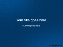 Download leathery blue 05 PowerPoint Template and other software plugins for Microsoft PowerPoint
