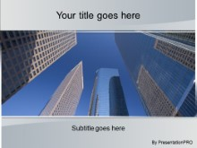 Download la sky scrapers PowerPoint Template and other software plugins for Microsoft PowerPoint