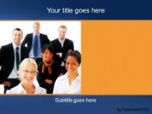 Download business group portrait PowerPoint Template and other software plugins for Microsoft PowerPoint