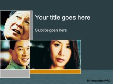 Download asians in business PowerPoint Template and other software plugins for Microsoft PowerPoint