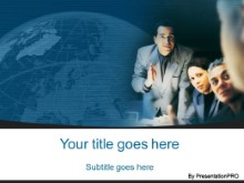 Download consulting group blue PowerPoint Template and other software plugins for Microsoft PowerPoint