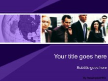 Download the company purple PowerPoint Template and other software plugins for Microsoft PowerPoint