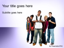 Download back for highschool purple PowerPoint Template and other software plugins for Microsoft PowerPoint