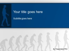 Download human evolution PowerPoint Template and other software plugins for Microsoft PowerPoint