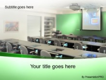 Download training room green PowerPoint Template and other software plugins for Microsoft PowerPoint