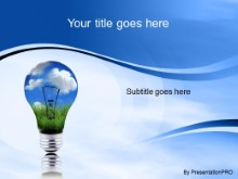 Download green energy blue PowerPoint Template and other software plugins for Microsoft PowerPoint