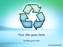 Download recycle symbol PowerPoint Template and other software plugins for Microsoft PowerPoint