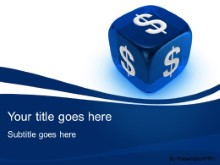 Download dollar dice PowerPoint Template and other software plugins for Microsoft PowerPoint