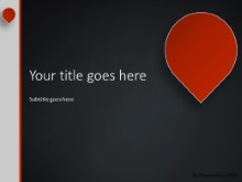 The Point PPT PowerPoint Template Background