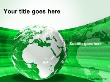 Download europe africa globe green PowerPoint Template and other software plugins for Microsoft PowerPoint