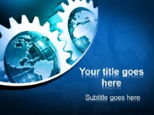 Download gears and globes PowerPoint Template and other software plugins for Microsoft PowerPoint