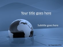 Download high tech globe PowerPoint Template and other software plugins for Microsoft PowerPoint