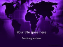 Download world grid purple PowerPoint Template and other software plugins for Microsoft PowerPoint