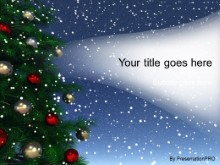 Download holiday snow PowerPoint Template and other software plugins for Microsoft PowerPoint