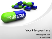Download healthcare reform PowerPoint Template and other software plugins for Microsoft PowerPoint