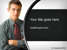 Download male intern PowerPoint Template and other software plugins for Microsoft PowerPoint
