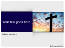 Download religion cross PowerPoint Template and other software plugins for Microsoft PowerPoint