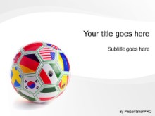 Download international soccer PowerPoint Template and other software plugins for Microsoft PowerPoint