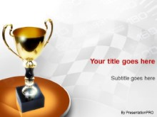 Download trophy PowerPoint Template and other software plugins for Microsoft PowerPoint