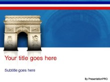 Download arc de triomphe PowerPoint Template and other software plugins for Microsoft PowerPoint