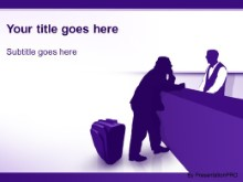 Download concierge purple PowerPoint Template and other software plugins for Microsoft PowerPoint