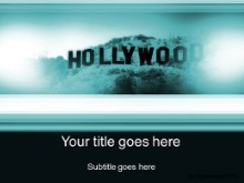 Download hollywood teal PowerPoint Template and other software plugins for Microsoft PowerPoint