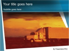 Download trucking PowerPoint Template and other software plugins for Microsoft PowerPoint